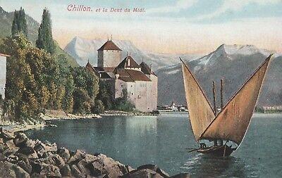 AK Chillon et la Dent du Midi