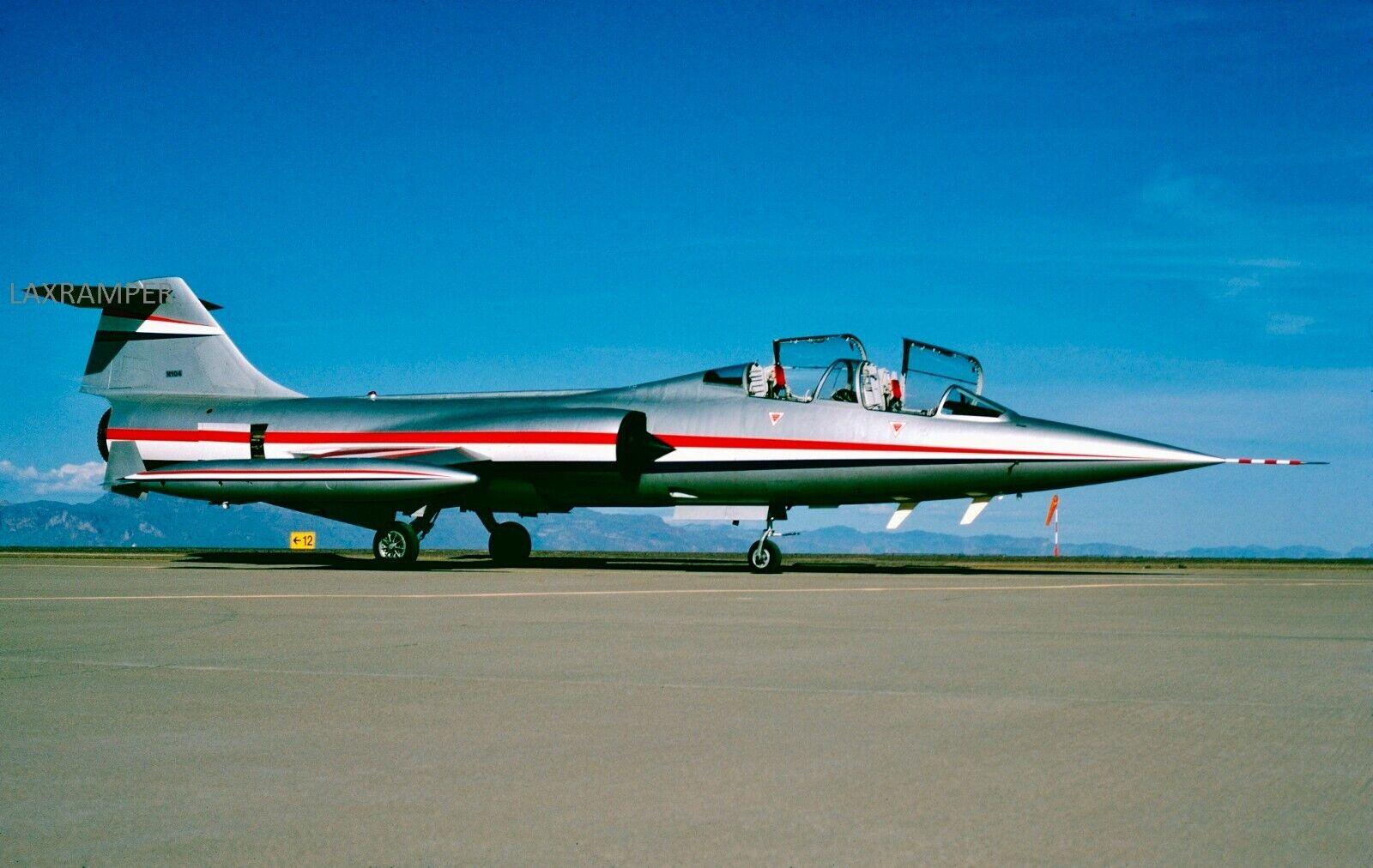 Original Slide Lockheed CF-104D MK.1 RCAF N104 CN 583-5303 F-104D USAF Canada - $1.95