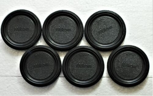 6 X Nikon BF-1a Style Body Caps F-mount for DSLR/FILM Cameras. Fast U.S.Shipping