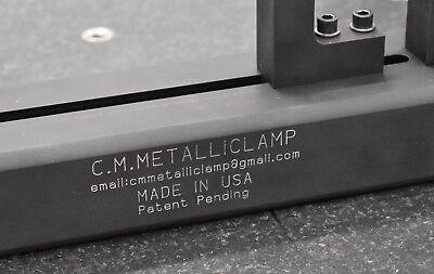 C.m.metalliclamp A New Workholding Fixture For Cmm Zeiss Renishaw Mitutoyo Faro