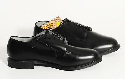 Bates Black Uniform Shoes Oxfords Tuxedo Cambrelle Lining Nwt Size 13  - Lined Oxford Uniform