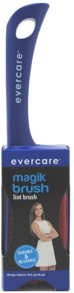 EVERCARE Magik Brush Double Sided Re-usable Lint, Dust, And