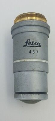Leica 467 Achro 10001.25 Oil 0.17 Microscope Objective 100x