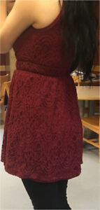 Lace Little Red Dress/Perfect for Holidays
