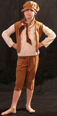 Viktorianisch/ Edwardianisch/Oliver/Bettler/Arbeitshaus Hellbraun - Viktorianischer Bettler Kostüm