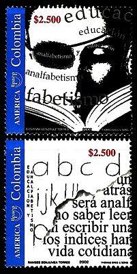 COLOMBIA 2002 TEMA AMERICA UPAEP EDUCACIÓN  2v.