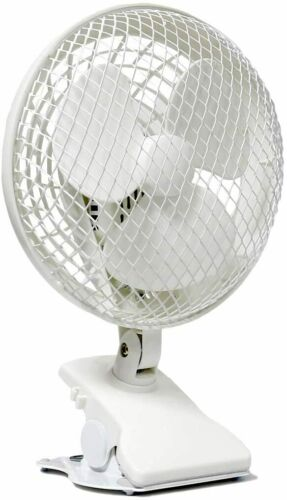 """IVOSUN 6"""" inch 2-Speed Clip Portable On Fan for Desk Table Hydroponic Grow Tent"""