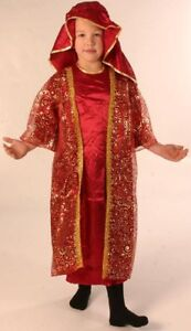 Childs Wise Man Melchior Ex Hire Sale Fancy Dress Costume Age 3-5 Years