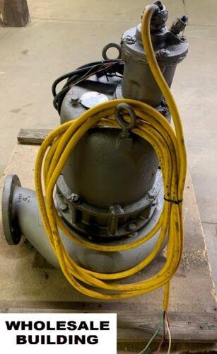 HYDROMATIC/AURORA, SUBMERSIBLE SEWAGE PUMP, S6L1000M4-6, 10HP, 460V