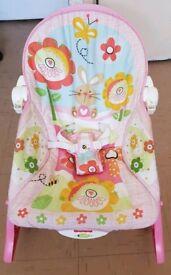Baby Girls Recliner & Rocker Chair