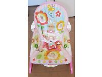 Baby Girls Recliner & Rocker Chair