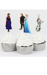 Frozen Cupcake Toppers Picks  Birthday Party Toppers 24 Pcs
