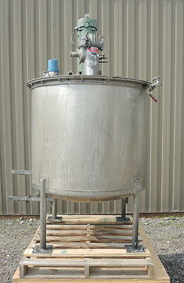 210 Gallon Stainless Steel Mix Tank
