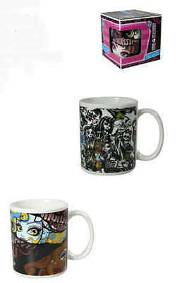 2 Monster High Tassen Becher im Geschenkkarton ()