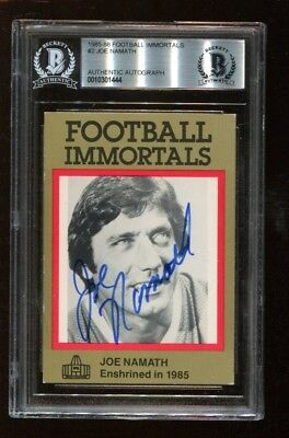 eff5ee4d107 Other Autographed Items - Joe Namath - 2 - Trainers4Me
