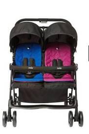 Joie twin stroller / pram