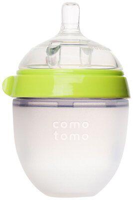 Comotomo 5 oz Slow Flow Bottle - Green