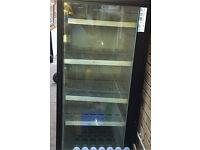 Commercial drink display fridge sal