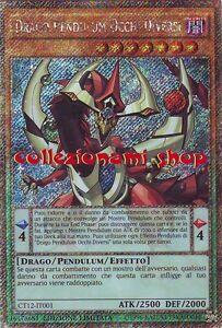 Ct12 it001 drago pendulum occhi diversi rara segreta italiano - Drago furioso occhi diversi ...