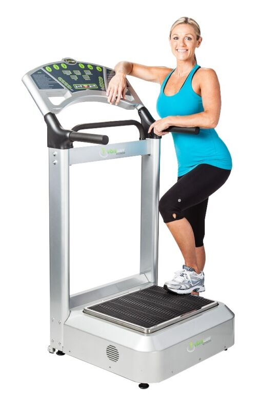 VibraWav Pro XT - Silver 13mm - Vibra-Wav Whole Body Vibration Therapy Machine