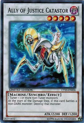 YUGIOH Ally of Justice Machine Deck AOJ Complete 40 Cards + Extra