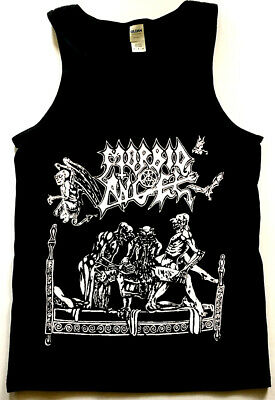 MORBID ANGEL Tank Top shirt BLACK DEATH METAL BOLT THROWER IMMOLATION MAYHEM S-X Black Metal Tank Top Shirt