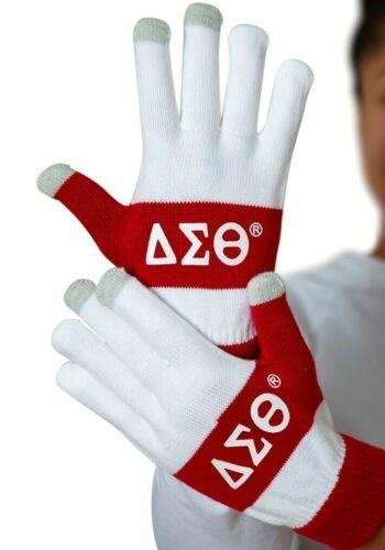 Delta Sigma Theta Sorority Knit Texting Gloves-New!