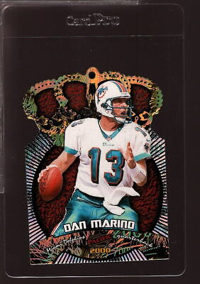 2000 PACIFIC GOLD CROWN DIE-CUTS 14 DAN MARINO HOF NMMT 255565 - $4.99