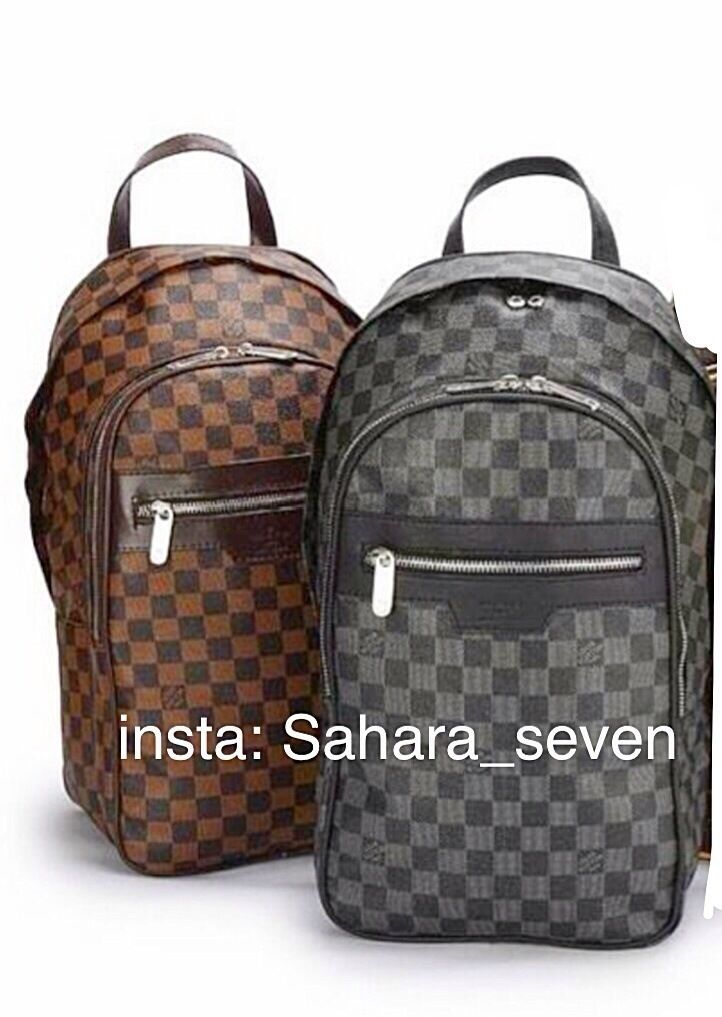 mens backpack shoulder bag louis vuitton rucksack side handbag lv messenger good quality in. Black Bedroom Furniture Sets. Home Design Ideas