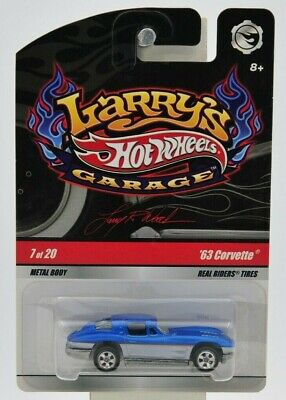 "Hot Wheels 2008 Larry's Garage '63 Corvette (Signed) 7 of 20 ""NIP"""