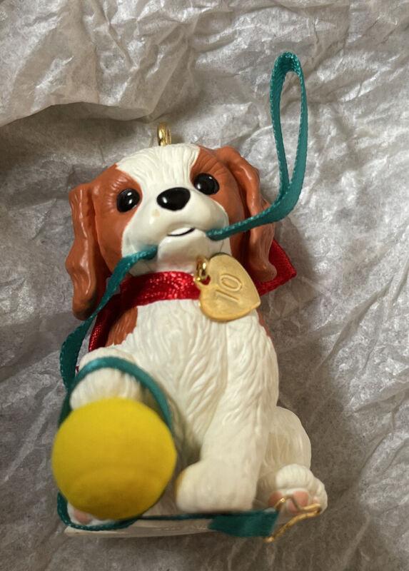 Puppy Love 2010 Hallmark Keepsake Ornament #20 in Series