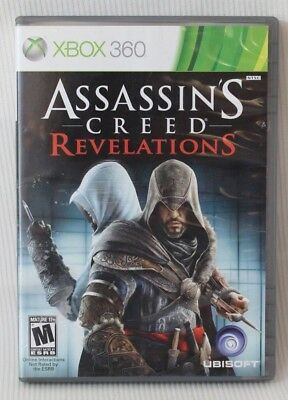 Assassin's Creed Revelations GAME 2011 Microsoft Xbox 360 Ubisoft Videogame  for sale  Shipping to India