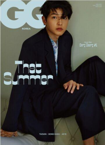 GQ Korea 2021 June Song Joongki Cover Whole Magazine