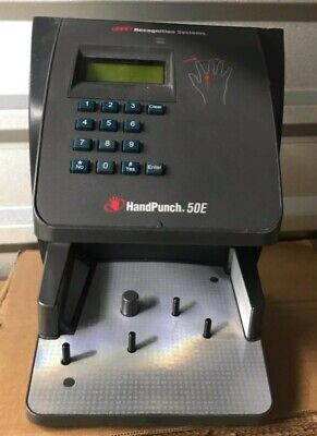 Novatime Hp-3000-e Biometric Hand Punch Time Clock
