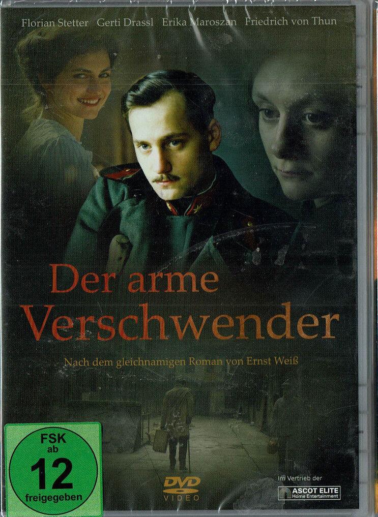 Der arme Verschwender - Friedrich Thun, Erika Maroszan, Florian Stetter DVD Neu