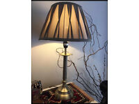 Dull Gold Lamp