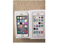 iPhone 5S Vodafone 16GB silver Excellent Condition