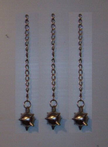 Make Your,3 Battle Mace / Flail Spike Balls & Chains,Medieval Weapon,FREE SHIP