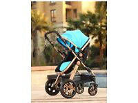 Tinytoes Pushchair, Carrycot, Stroller, Buggy suitable for Newborn 2016 Model **FREE UK DELIVERY**