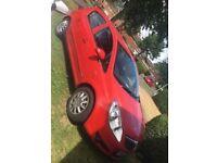 Vauxhall corsa red 1.3 diesel