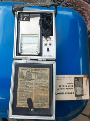 Vintage Amprobe LAVA53 or 54 AC Volt/Amp Chart Recorder