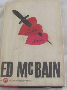 Ed-McBain-LIKE-LOVE-1st-Edition-1962-An-87th-Precinct-Mystery-Novel-HC-DJ