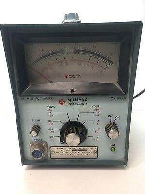 Millivac Instruments Rf Millivoltmeter Mv-828a