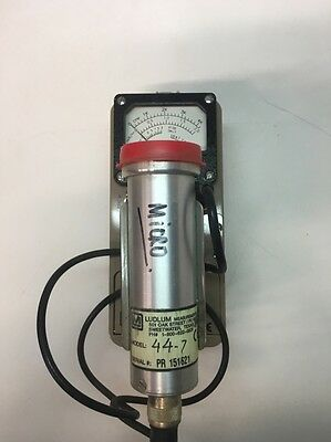 Ludlum Measurements Inc. Survey Meter With Model 44-7 Unit As Well Model3