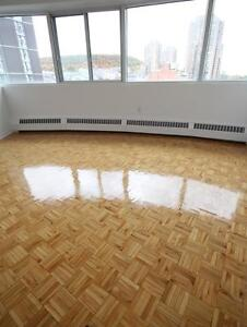 Many recent renovation in building, great views, clean (3 1/2)