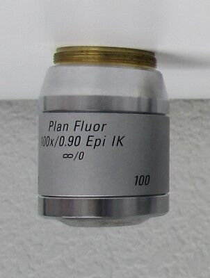 Leica Plan Fluor 100x0.90 Epi Ik 0 Microscope Objective