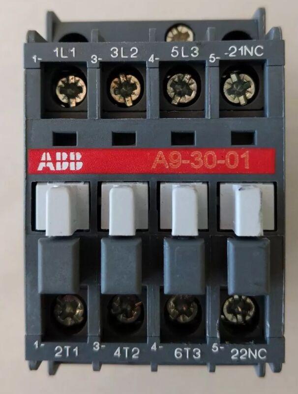 ABB A9-30-01 Contactor 600VAC 3-Phase NC
