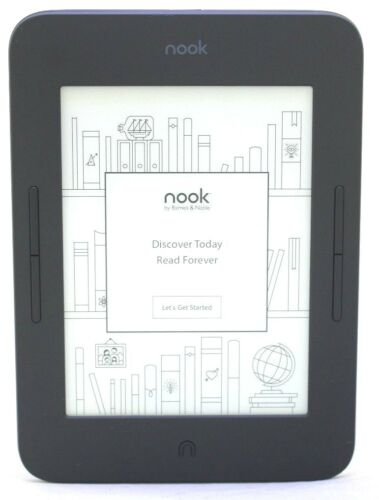 Barnes & Noble Nook Glowlight 3, 8GB e-Reader BNRV520 Wi-Fi - Black 01-7A