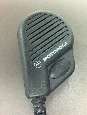 Motorola Nmn6196a Remote Speaker Mic For Visar Portable Radio