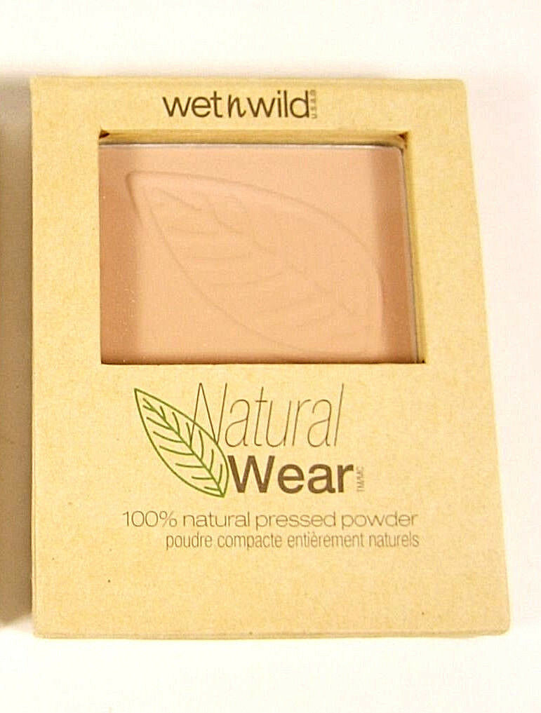 Wet 'n' Wild Natural Wear Pressed Powder with Puff and Mirro